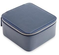Royce New York Leather Travel Jewelry Case