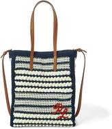 Ralph Lauren Crocheted Mini Modern Tote