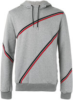 Christian Dior stripes hoodie - men - Cotton - M