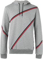 Christian Dior stripes hoodie