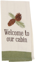 'Welcome' Dish Towel