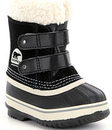 Sorel Kids' Waterproof Cold Weather 1964 Pac Strap Boots