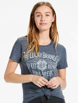 Lucky Brand Lucky Old Time Tee