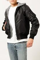 R 13 Hooded Flight Jacket