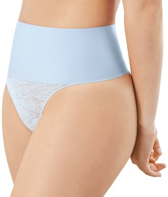Maidenform Women's Tame Your Tummy Lace Thong DM0049