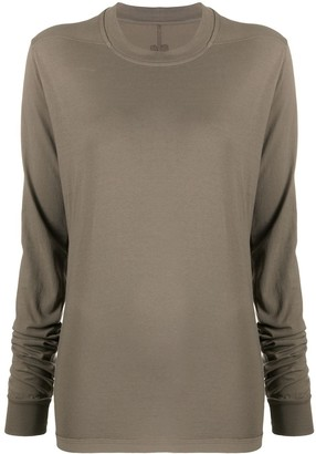 Rick Owens Relaxed Crew Neck Top