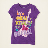 Children's Place Mom rocks graphic tee