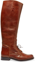 Ariat Palencia Lace-up Leather Riding Boots - Tan