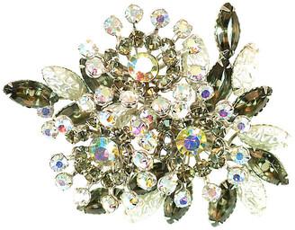 One Kings Lane Vintage 1950s Beau Jewels Black Diamond Brooch - Neil Zevnik