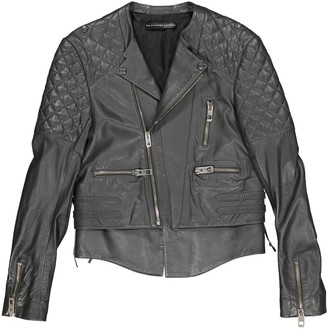 Balenciaga \N Grey Leather Jackets