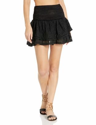 Ramy Brook Women's Embroidered Arius Mini Skirt