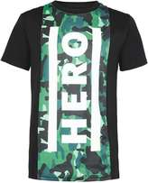 Hero's Heroine Black Longline T-Shirt*