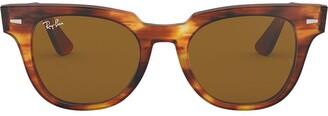 Ray-Ban Meteor Stripped Havana sunglasses