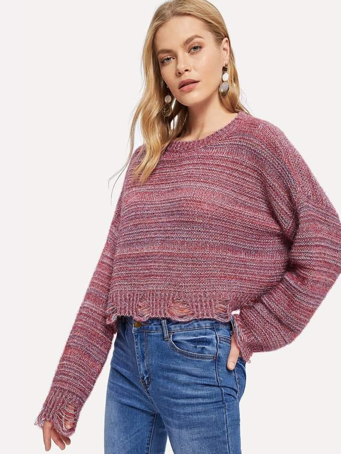 965a30c419 Pink Drop Shoulder Women's Sweaters - ShopStyle