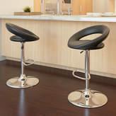 Asstd National Brand Round Back Adjustable Barstools- Set of 2