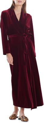 Natori Natalie Long Velvet Robe