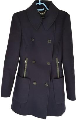 Karen Millen Navy Wool Coat for Women