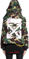 Off-White M65 Camo & Cherry Blossom Canvas Jacket