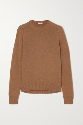 Saint Laurent Camel Wool Sweater - Brown