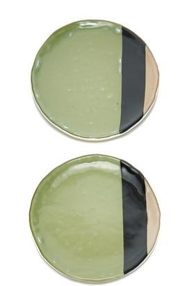 Vetro Fuso Vetrofuso Balla Set-Of-Two Dessert Plates