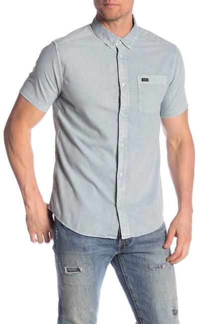 RVCA That'll Do Short Sleeve Slim Fit Shirt