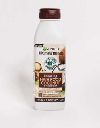Garnier Ultimate Blends Smoothing Hair Food Coconut Conditioner For Frizzy Hair 350ml