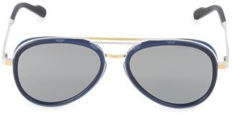 Cutler & Gross 58MM Two-Tone Aviator Sunglasses