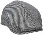 Ben Sherman Men's Linen Stripe Driver Hat