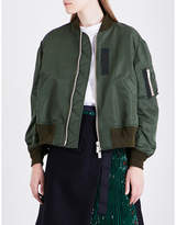 Sacai MA-1 satin jacket