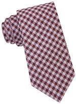 William Rast Silk Micro Check Tie
