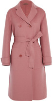 Bottega Veneta Double-breasted Cashmere Coat - Antique rose