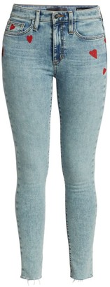Joe's Jeans x Stephanie Gottlieb The Icon Ankle Cut-Hem Jeans
