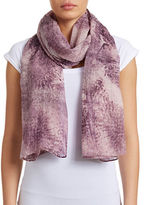 Fraas Blurred Thistle Scarf