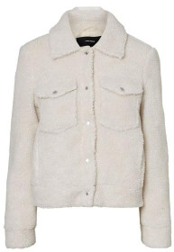 Vero Moda Short Teddy Jacket - XS