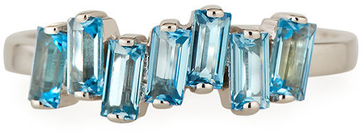 KALAN by Suzanne Kalan 14K White Gold Amalfi Wave Ring, Size 4-8.5