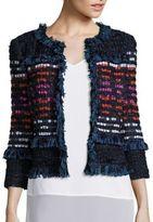 St. John Luxe Shimmer Jacket