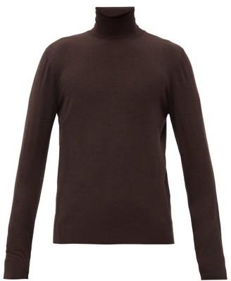 Dolce & Gabbana Roll-neck Wool Sweater - Brown