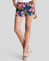 Juicy Couture Shorts - Printed Sateen Tropical