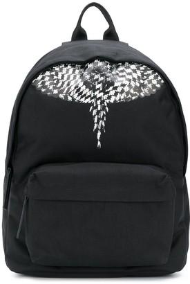 Marcelo Burlon County of Milan geometric Wings backpack