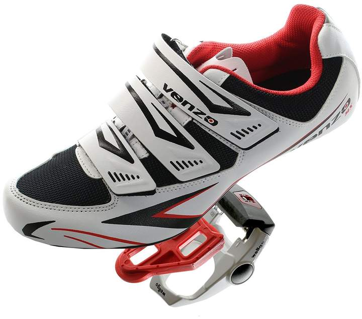 Shimano Venzo Road Bike For SPD SL Look Cycling Bicycle Shoes & Pedals 44