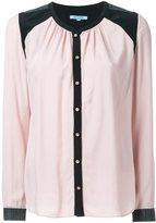 GUILD PRIME contrast shoulder shirt - women - Rayon - 34