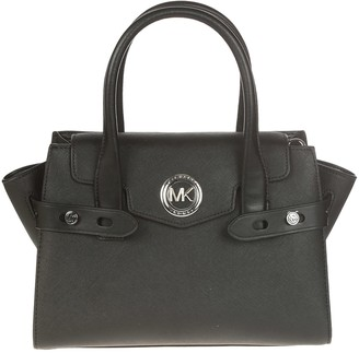 Michael Kors Carmen Small Flap Belted Tote