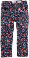 Osh Kosh Print Woven Pants (Toddler/Kid) - Floral-6X