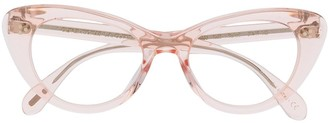 Oliver Peoples Rishell cat eye glasses