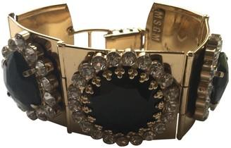 MSGM Gold Crystal Bracelets