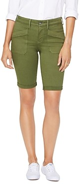NYDJ Cuffed Utility Shorts