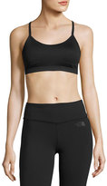 The North Face Motivation Strappy Mid-Impact Sports Bra, Black