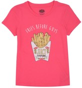 Juicy Couture Girls Knit Fries Before Guys Graphic Tee