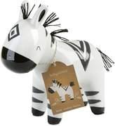 Baby Aspen Ceramic Zebra Bank