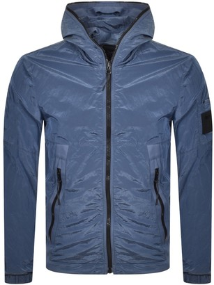 Replay Logo Jacket Blue